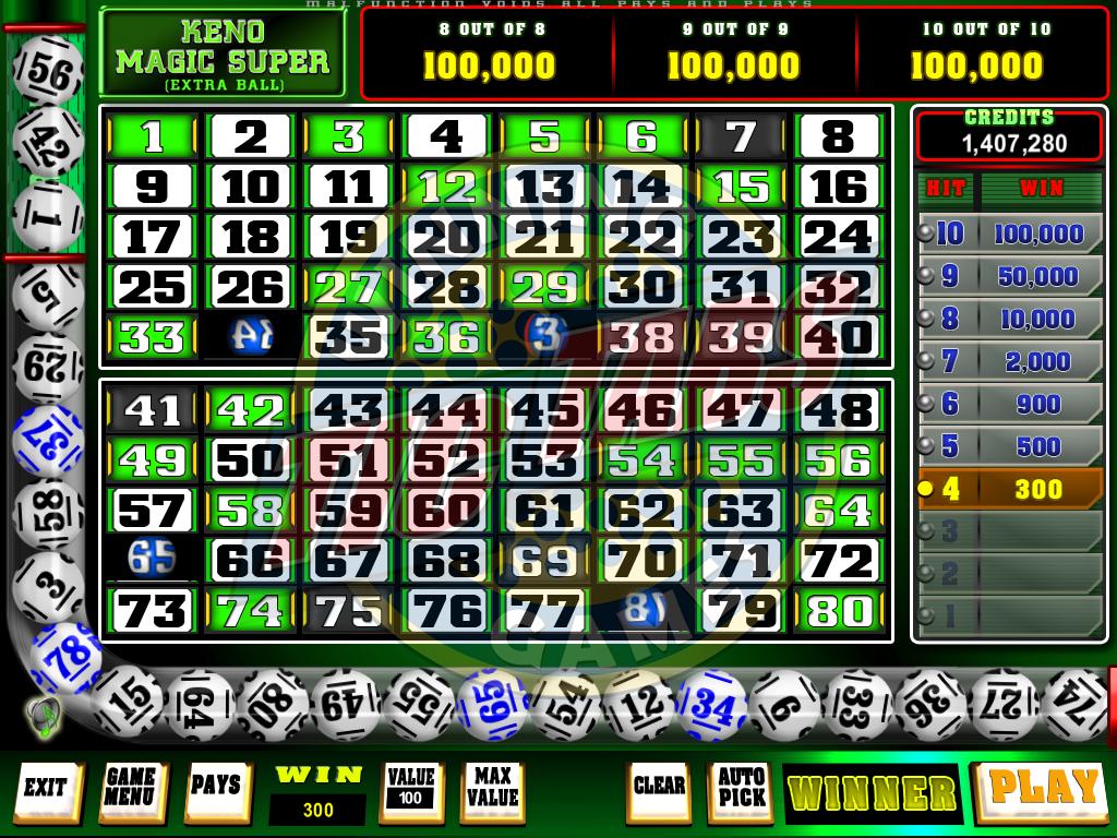 Rapid bingo keno super 49427