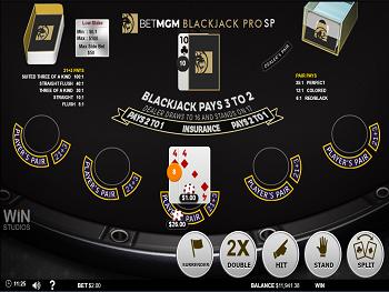 Blackjack pro bet 22294