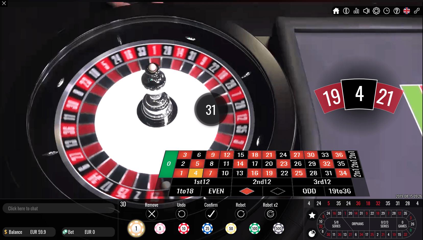 Casinos classificação 48267