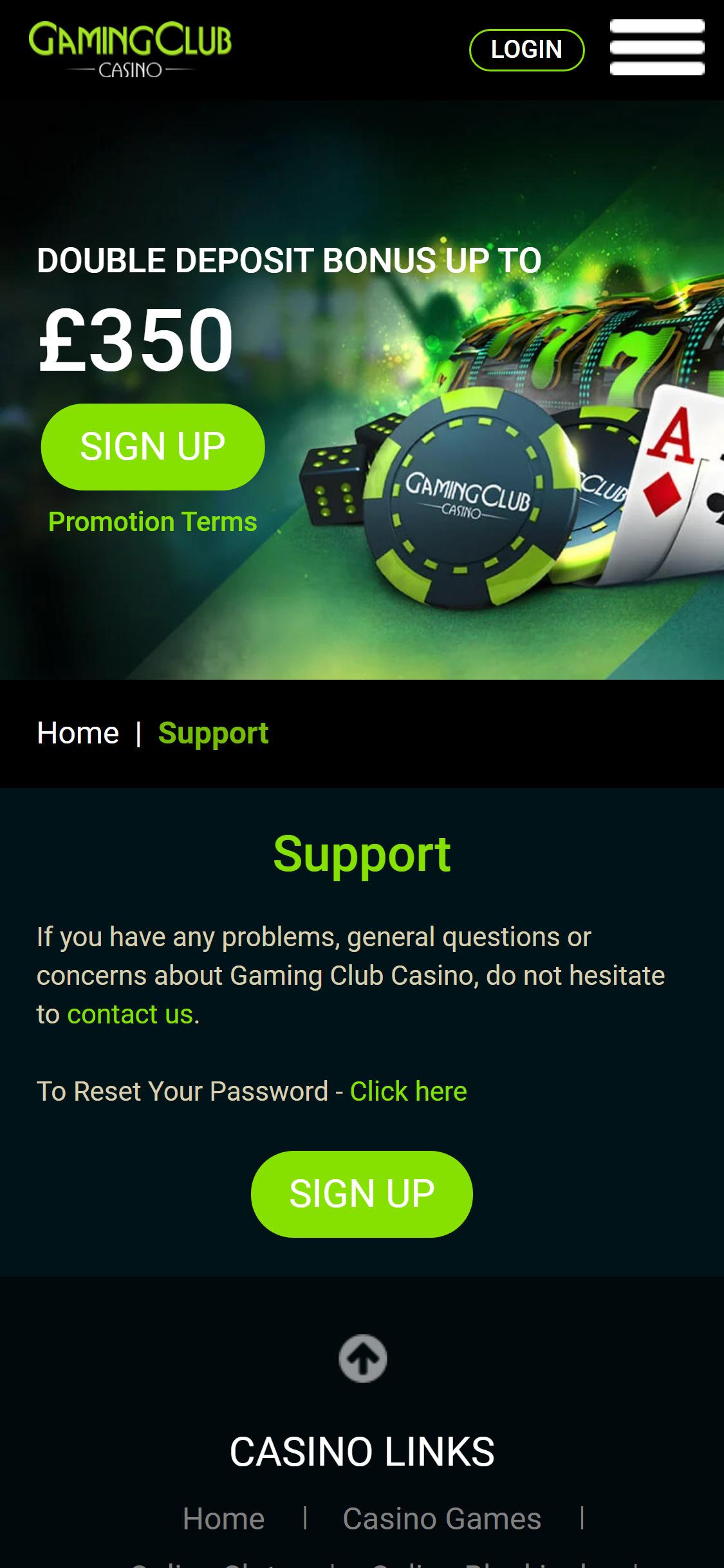 Gamingclub casino para Android 19873