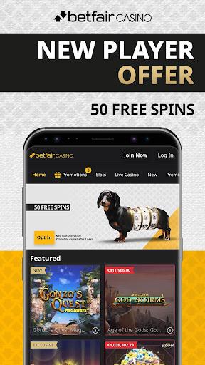 Free spins betfair casino 30650