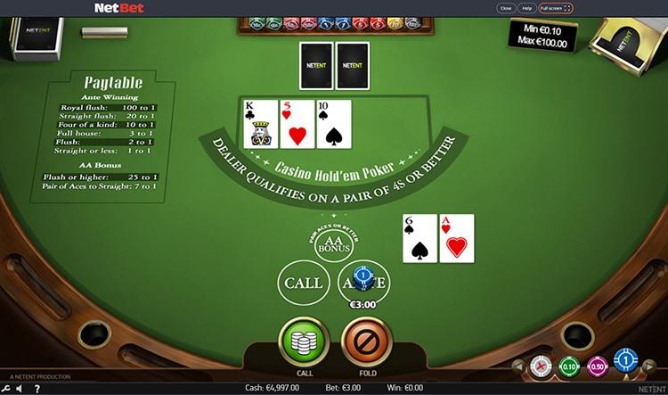 Cancelar bonus poker saque 29452