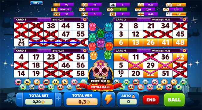 Muertitos vídeo bingo 13144