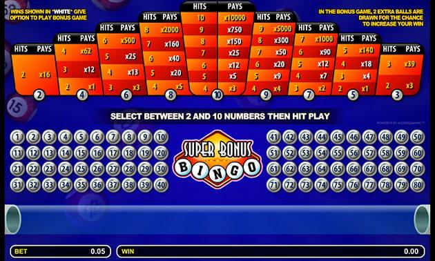 Bingo eletronico 60145