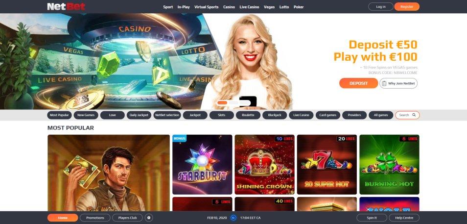 Bonus casino netbet 62958