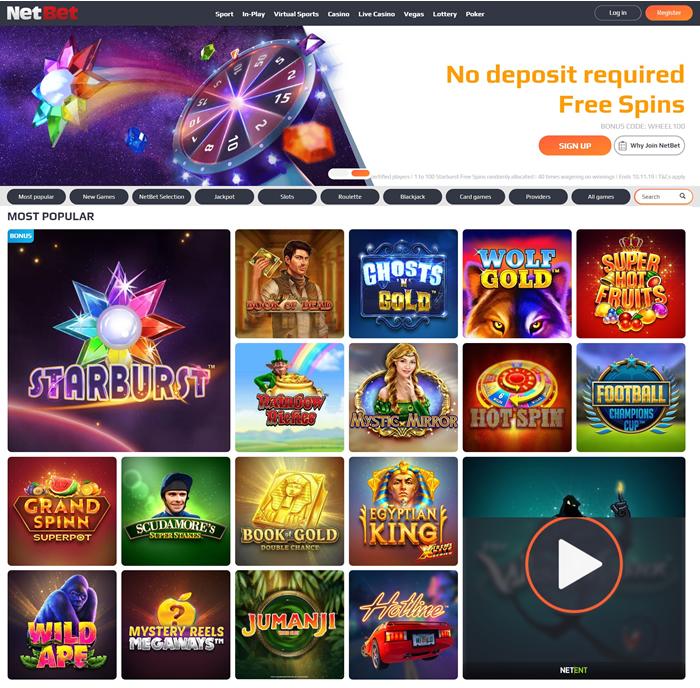 Casinos quickspin Brasil netbet 46252