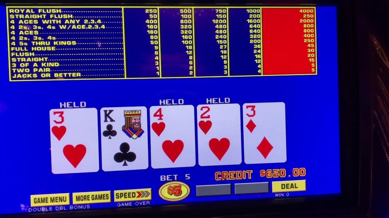 Video poker 58608