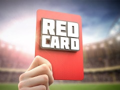 Red card 48832