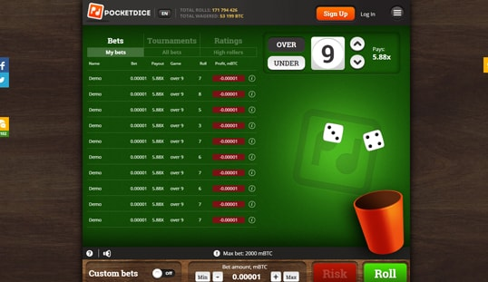 Casinos pocketdice free 26448