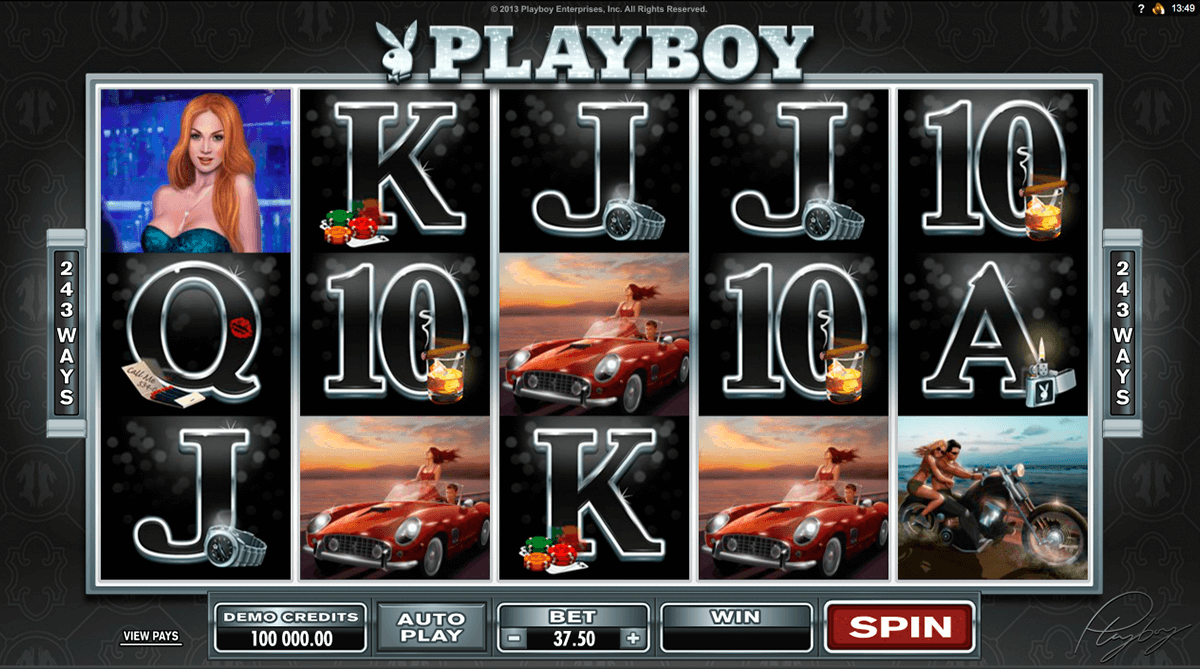 Playboy caça níquel 27699
