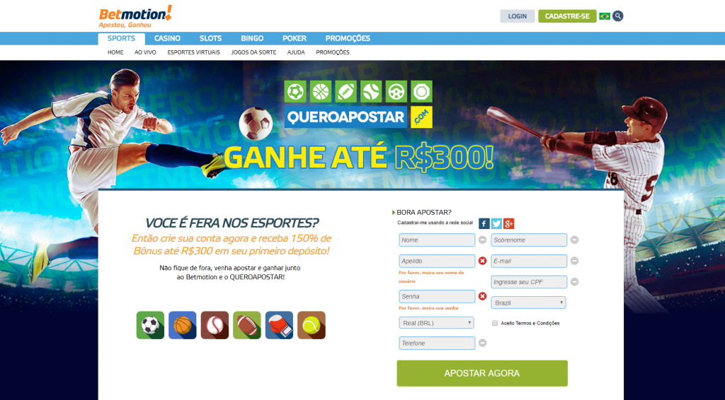 Betmotion website licenciado bonus 16067