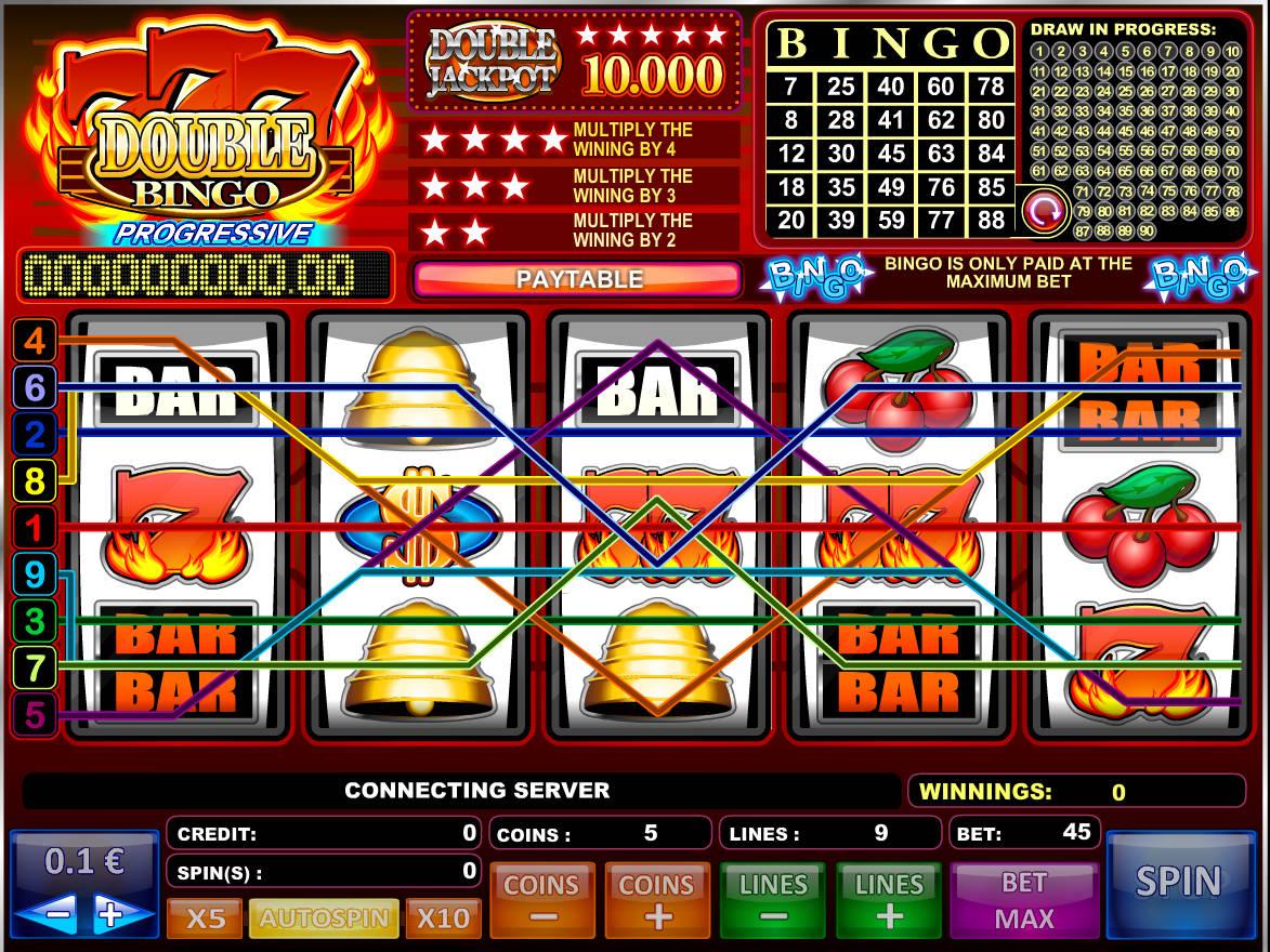 Bingo caça niquel níqueis 56700