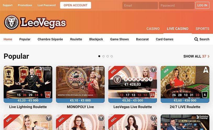 Casinos principal populares 26899