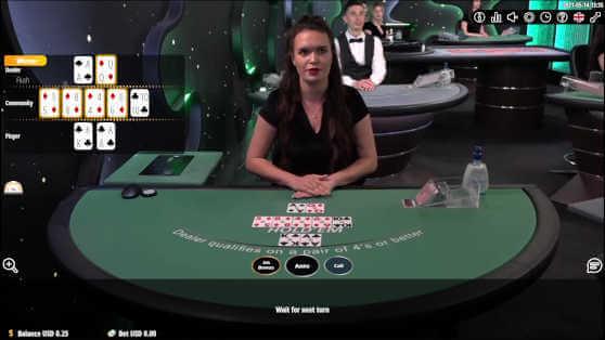 Casinos vivo gaming poker 36279