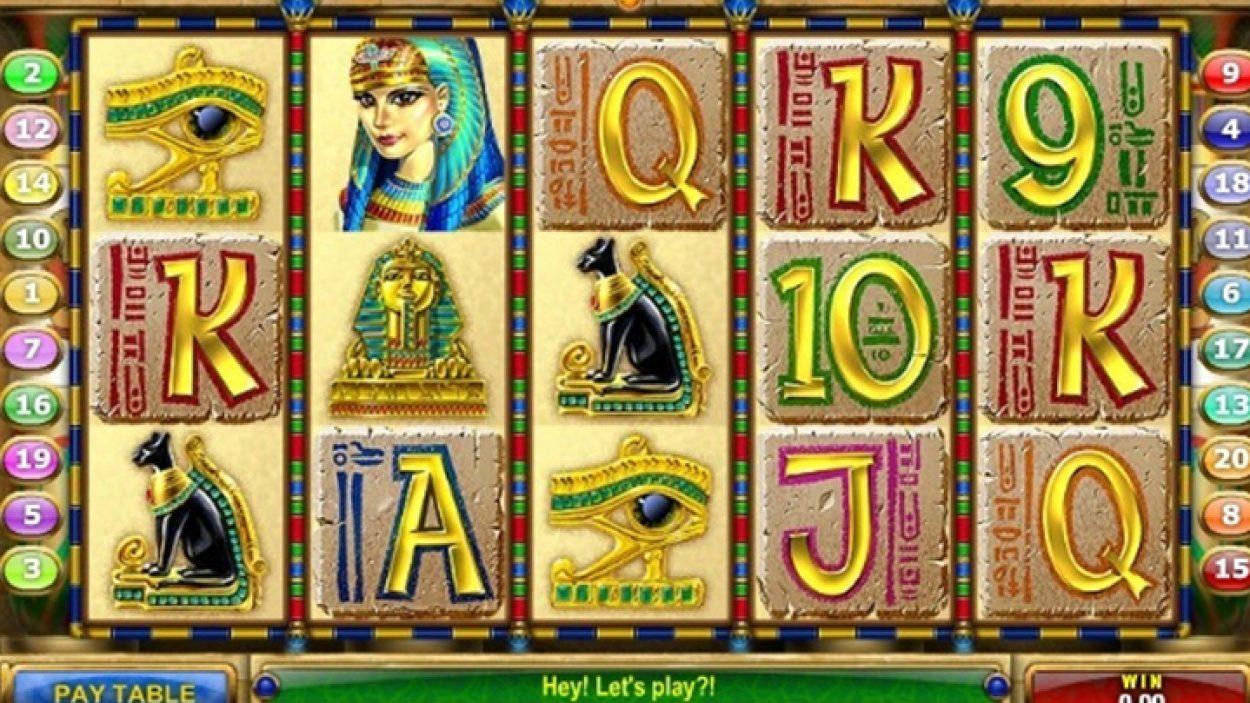 Cleopatra caça níquel 36310