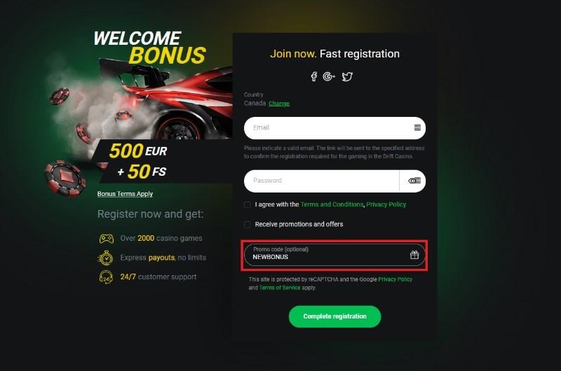 Codigo promocional winner casinos 65044