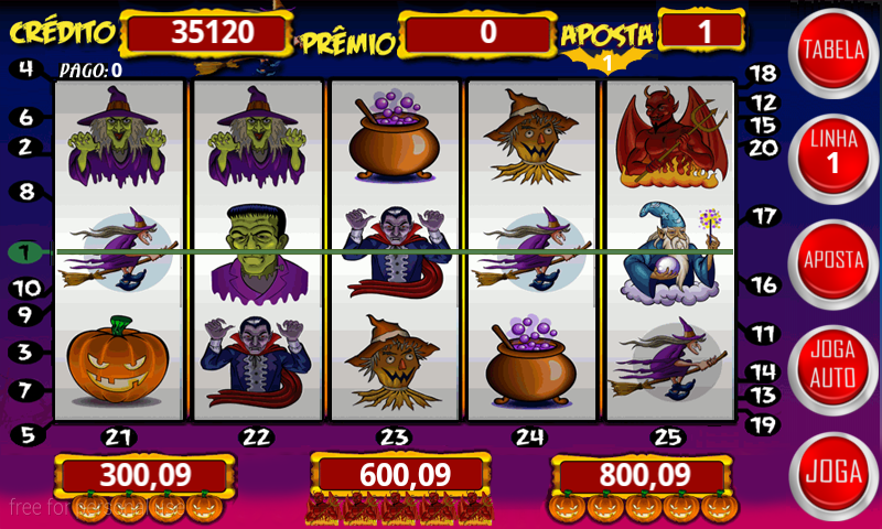 Halloween caça níquel poker 61042
