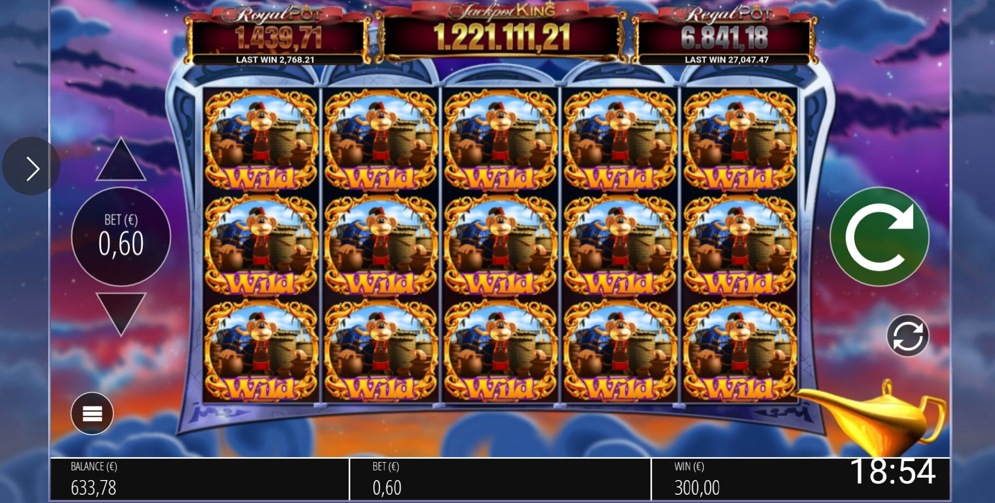 Blueprint gaming 25726