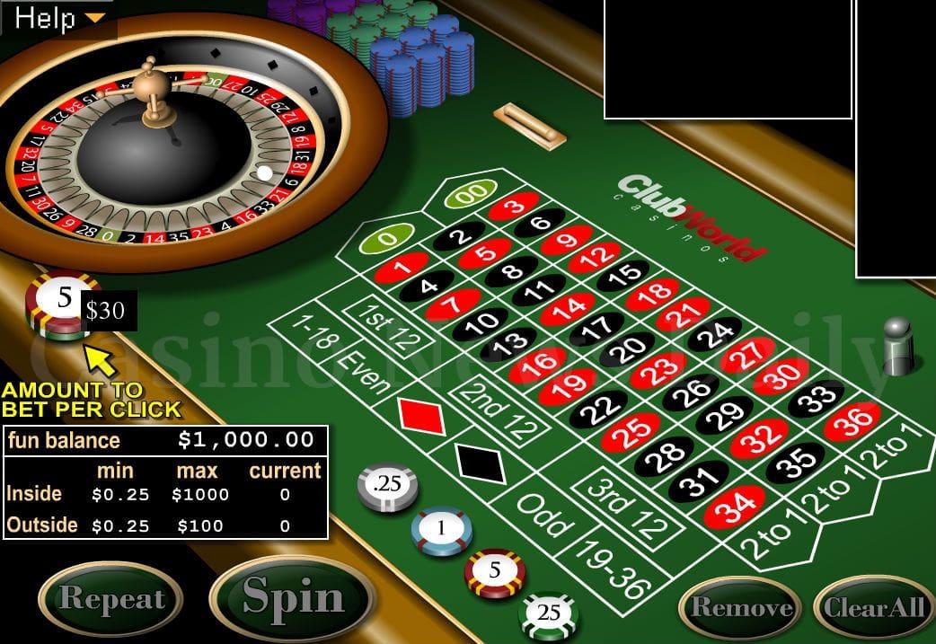 Multiwheel roulette 53681