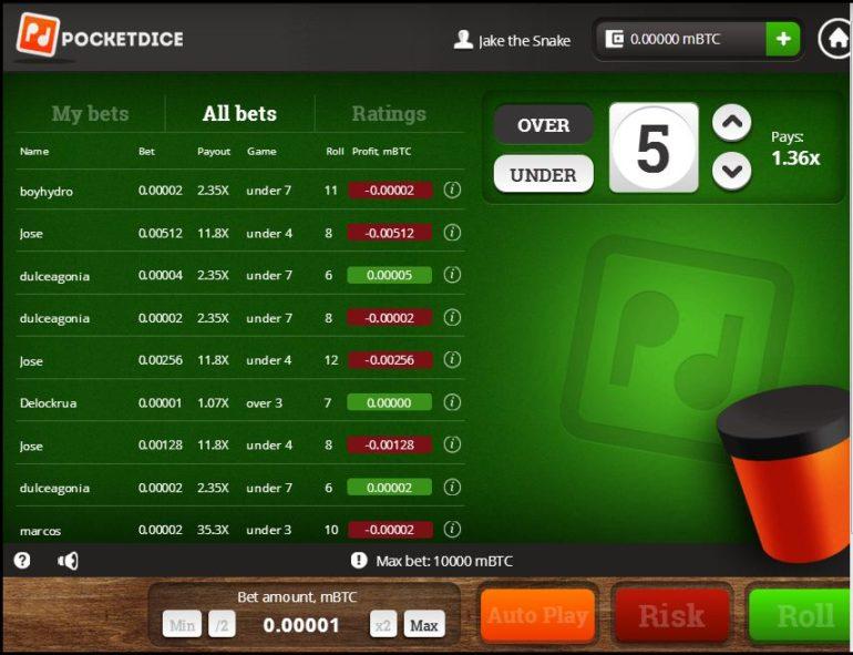 Pocket dice app 16419