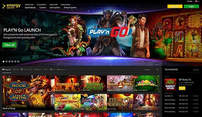 Poker online energy casino 68014