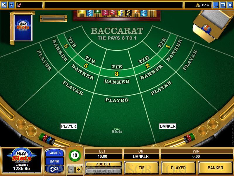 Pro baccarat significado microgambling 61868