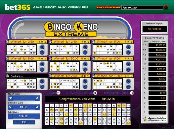Rapid bingo keno sites 48990