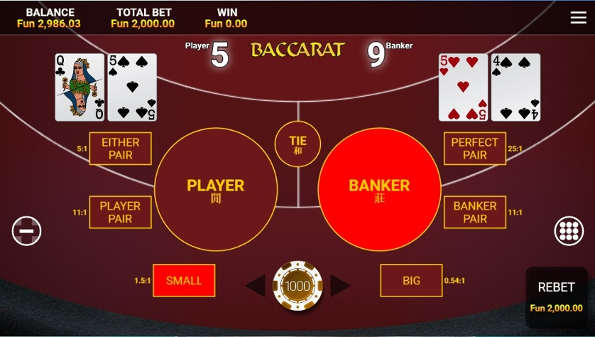 Slot machine free baccarat 11747